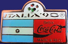 WM1990/WC1990-Sponsor-Coke-Bar-Flag-Beba-Argentina.jpg
