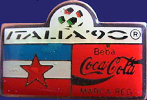 WM1990/WC1990-Sponsor-Coke-Bar-Flag-Beba-Yugoslavia.jpg