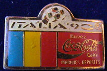 WM1990/WC1990-Sponsor-Coke-Bar-Flag-Buvez-Romania.jpg